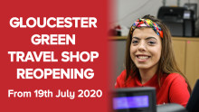 Our Gloucester Green Travel Shop is reopening!