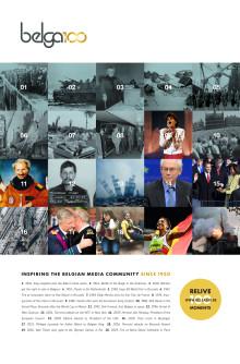 Belga 100 - printadvertentie