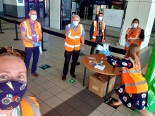 London Northwestern Railway says 'thank you' as passengers don face coverings