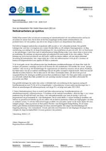 Svar på interpellation från Heikki Klaavuniemi (SD) om Nettoårsarbetare på sjukhus