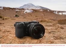 Schnell, kompakt und schön: Die neue spiegellose Systemkamera NEX-7 von Sony