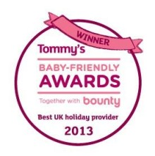 Center Parcs crowned winner of Best UK Family Holiday Provider at Tommy's Baby-Friendly Awards