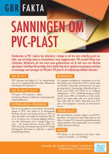 GBR Fakta - Sanningen om PVC-plast