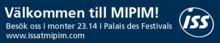 ISS första Facility Management-företaget på Mipim