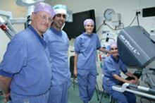 Akademiska igång med robotassisterad titthålskirurgi