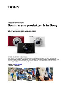 Sommarens produkter från Sony