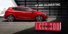 One in a million – Antallet af producerede KIA cee'd bliver 7-cifret