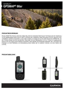 Datenblatt GPSMAP 66sr