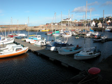 Findochty harbour pontoons consultation event