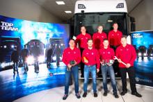 Scania Top Team:  Werkstattteam aus Kirchbichl ungeschlagen auf erstem Platz