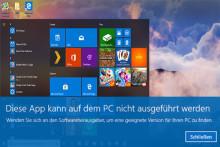 10 Lösungen: Diese App kann auf dem PC nicht ausgeführt werden