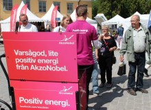 AkzoNobel i Almedalen 2014