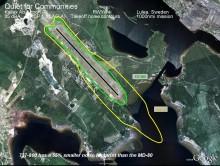 Norwegians sista MD80 lämnar imorgon – nya plan minskar ljud med hälften vid start i Kiruna och Luleå.