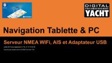 Cibles AIS sur l'appli Navionics - Navigation Tablette - Digital Yacht