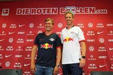Julian Nagelsmann präsentiert sich als neuer Coach von RB Leipzig