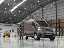 Nye 2-tonns Transit er best i klassen på eierskapskostnader og lastekapasitet.