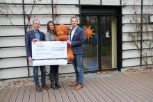"""Statt Weihnachtspost: """"AlpinProtect"""" und """"Bernd Bandhauer Versicherungsmakler GmbH"""" spenden 1.800 Euro"""