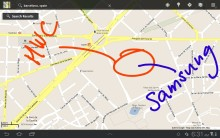 Från telekombranschens världsmässa Mobile World Congress 2012: Samsung startar året som nordisk marknadsetta