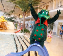 Kaj Krokodil flyttar söderut....till Gottsundabadet