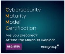 Webinar: Preparing for the Cybersecurity Maturity Model Certification