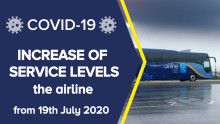 the airline: increase of service levels