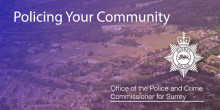 Interested in the future of policing in your area? Then come along to one of our 'Policing Your Community' events.