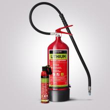 Premiär för AVD ett nytt släckmedel för litiumbränder