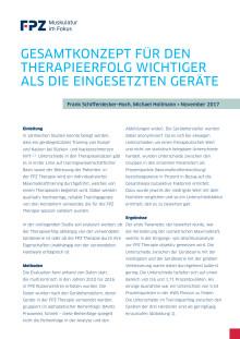 """Handout zur FPZ Studie """"Gesamtkonzept für den Therapieerfolg wichtiger als die eingesetzten Geräte"""""""