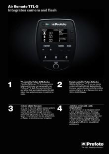 Sony en Profoto lanceren samen het eerste interoperabele product voor professionele fotografen