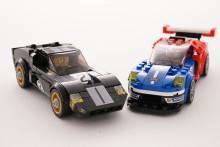 Ford GT40 och nya Ford GT finns nu att köpa som LEGO