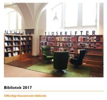 Sveriges biblioteksstatistik 2017: Skolbiblioteken ökar – och personalen är viktig för ungas läsvanor
