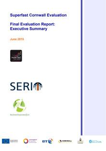 Superfast Cornwall Evaluation - Executive Summary