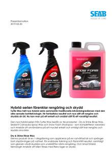 Hybrid-serien förenklar rengöring och skydd