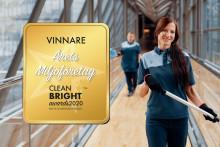 ISS utsett till Årets Miljöföretag i Clean Bright Awards