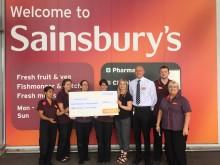 Sainsbury's in Crayford raises more than £7000 for ellenor