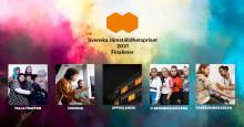 Fem bidrag till final i Svenska Jämställdhetspriset 2021