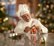 Årets allra finaste chokladtomte är här. En symbolisk figur skapad av Lindts chokladmästare.  LINDT Santa nylanseras inför advent och julens firanden.