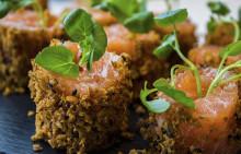 Korshags recepttips: Snabbgravad laxrulle