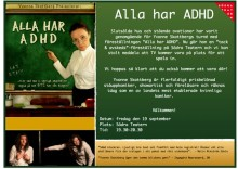 Yvonne Skattberg  - Alla har ADHD - Extra föreställning med Tv inspelning