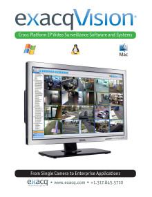 exacqVision VMS
