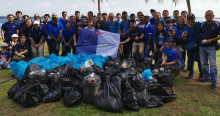 DSV helps clean up the environment