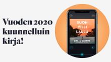 Vuoden 2020 kuunnelluin kirja on Delia Owensin Suon villi laulu