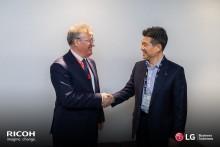 LG og Ricoh signerer ny europeisk samarbeidsavtale