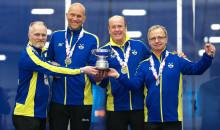 Curling-VM Seniorer: Lag Wranå från Sundbybergs CK försvarade VM-guldet.