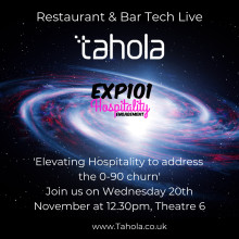 Come and listen to Tahola & EXP101 at RBTL19