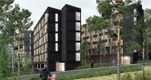 Flere boliger til den svenske ungdom | Arkitema Architects vinder konkurrencen om 124 ungdomsboliger i Tullinge skov syd for Stockholm