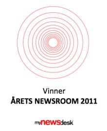 Vinnere av årets newsroom 2011