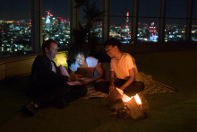 Sleep under the stars, 518 feet above the city lights with the BT Plus Great Indoors experience