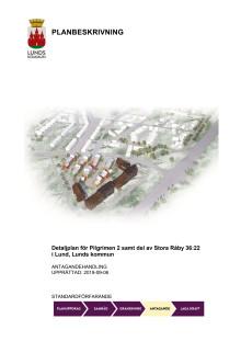 Planbeskrivning för Pilgrimen på Södra Råbylund