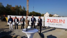 Cornerstone ceremony for new corporate site in Markgröningen